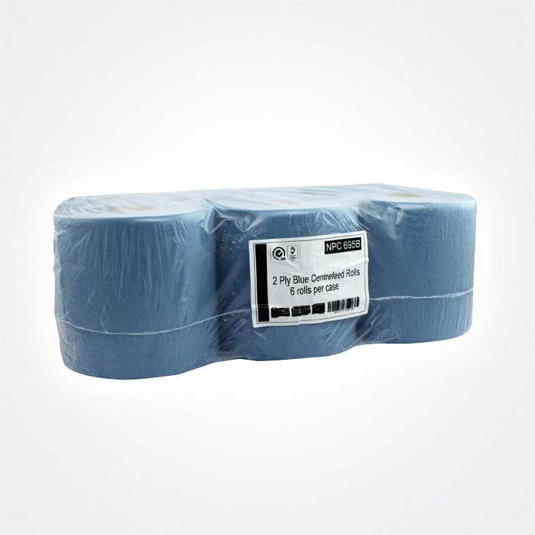 Centre-feed-Rolls-2-Ply-Blue